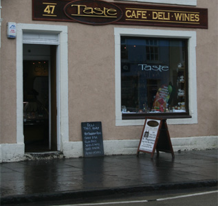 Find Taste Delicatessen in Linlithgow